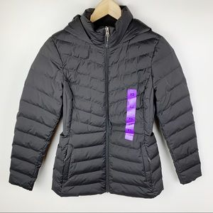 32 Degrees Quilted Hooded Insulated Puffer Jacket